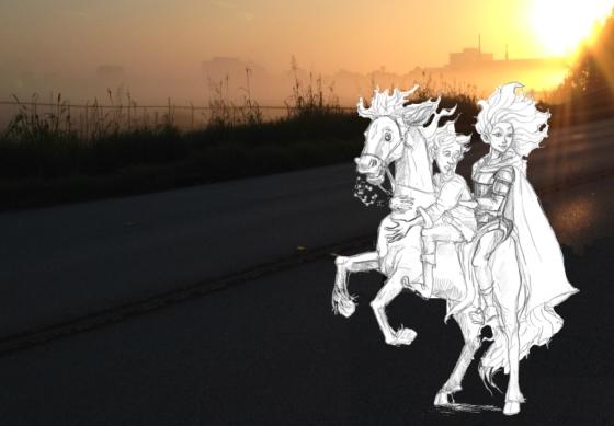 horse4 Sunrise