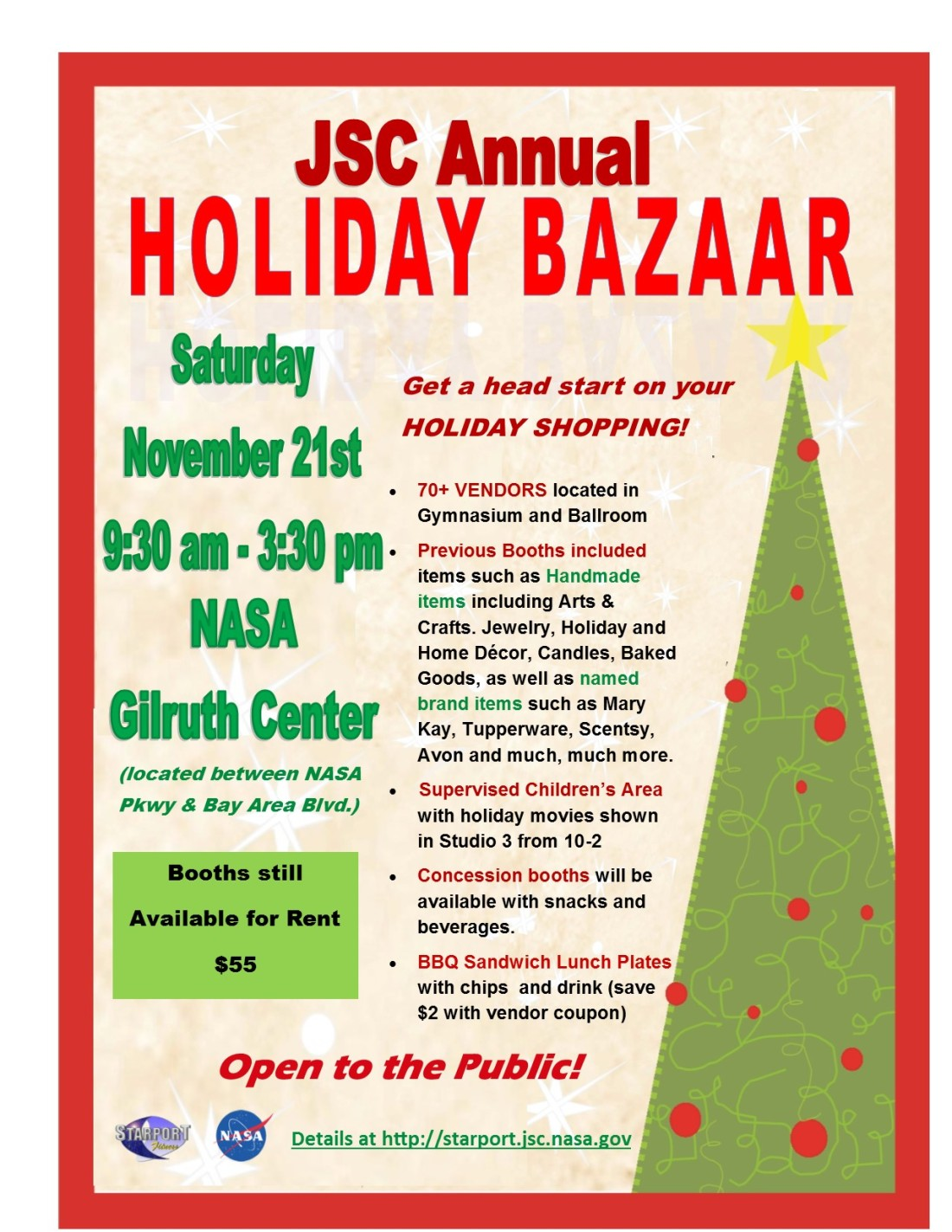 Holiday Bazaar Flyer  - 2015 (3)